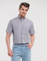 Men`s Short Sleeve  Classic Oxford Shirt