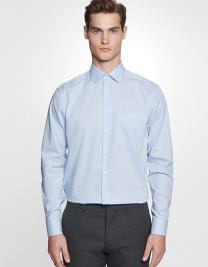 Men´s Shirt Regular Fit Check/Stripes Long Sleeve