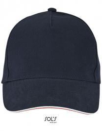 Unisex Contrast Three-Colour Cap Longchamp