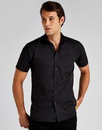 Tailored Fit Poplin Shirt Short Sleeve