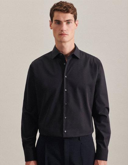 Men`s Shirt Shaped Fit Longsleeve